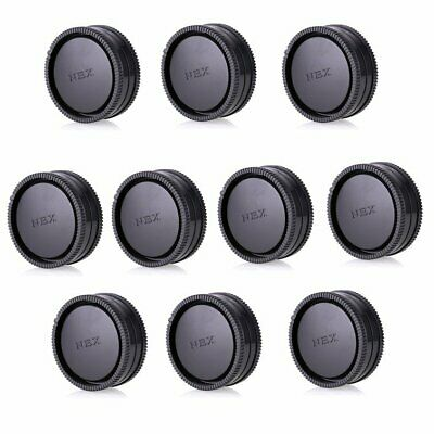 10pcs Camera Body Front Cover +Rear Lens Cap for Sony E mount NEX Camera