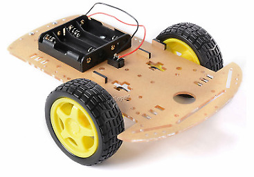Robot Car Chassis kit - 2 Wheel - Arduino (UK Seller) Quality Tested