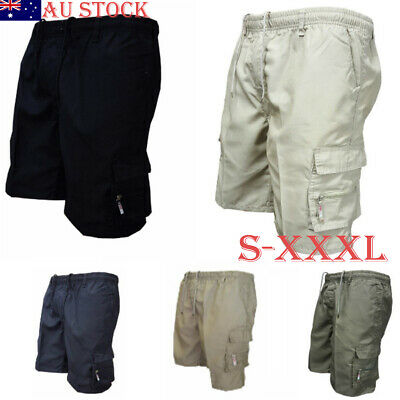 Size S-3XL Mens Casual Jogging Cargo Workout Shorts Summer Sweat Pants NEW
