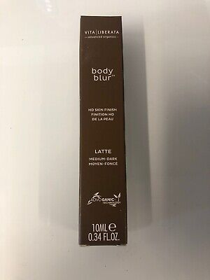 VITA LIBERATA Body Blur Instant HD Skin Finish in Latte Medium-Dark 10ml *BNIB*