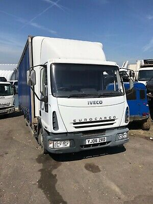 IVECO EURO CARGO 7 5 Tonne Recovery Truck Spec Lift 2004