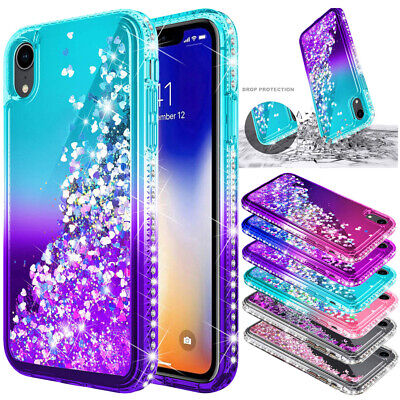 Glitter Bling Case Liquid Quicksand Cover For Huawei P20 P30 Mate 20 Pro Lite