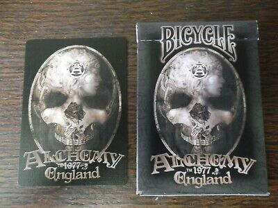 """SUPERB PACK """"Bicycle - Alchemy 1997 England"""" Pack of Playing Cards"""
