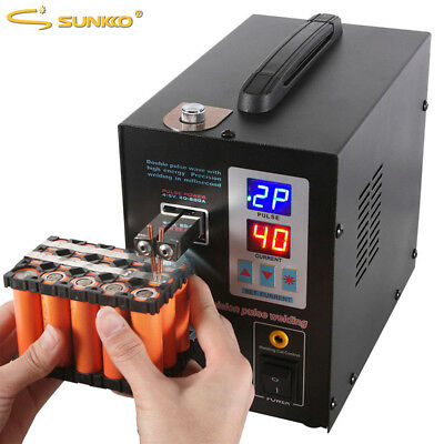 SUNKKO 737G spot welder welding machine device for rechargeable battery packs