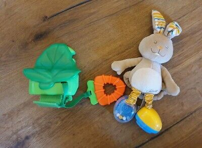 Baby Buggy Spielzeug Musik-Bunny Hase