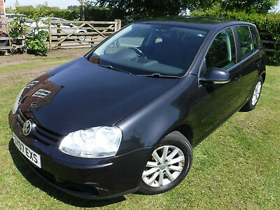 2007 VW Golf 1.9 TDi Match 5dr 87100 MILES FULL SERVICE HISTORY 1 OWNER 12M MOT