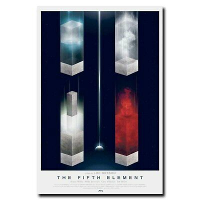 """Luc Besson Bruce Willis The Fifth Element Movie Poster Print 13x20/"""" 20x30 24x36/"""""""