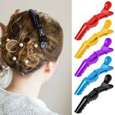 5Pcs Salon Hair Sectioning Clips Claw Clamp Crocodile Hairdressing Grips Styling