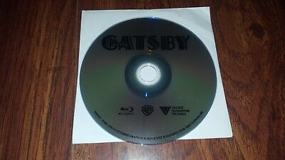 The Great Gatsby 2013 bluray Near Mint Condition Disc Only