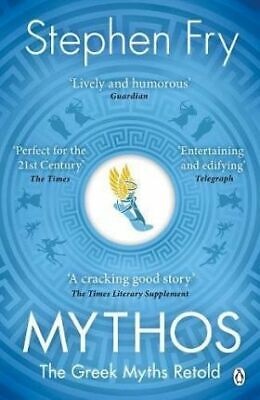 NEW Mythos : The Greek Myths Retold by Stephen Fry Paperback (Free Shipping)