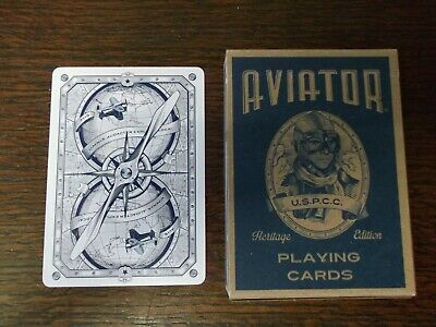 """SUPERB PACK """"Bicycle Type - Aviator"""" Pack of Playing Cards"""