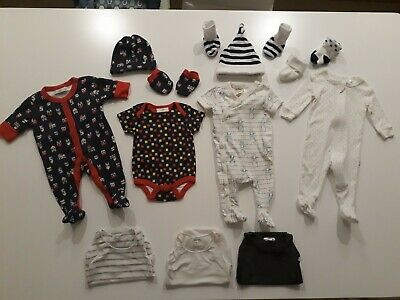 Baby Boys newborn/Size 0000 winter clothes bulk bundle
