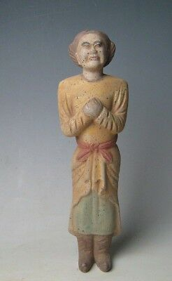 Rare Chinese pottery & ancient  Sculpture adornment  Servant
