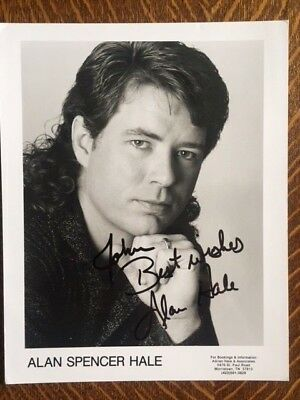 Alan Spencer Hale Country Music Autographed Signed Photo
