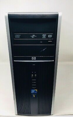 PC hp 8000 Tower Intel Core 2 Duo E8500 RAM 4GB / HDD 250GB / Dvd-Rw Win 10 Pro