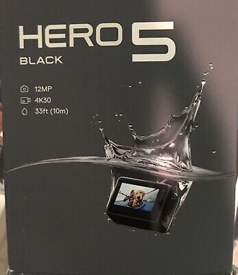 GoPro HERO5 Session 4K HD Action Camera with Accessory Bundle - Black