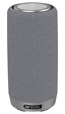 Acoustic Solutions Wireless Speaker with Alexa - Grey.