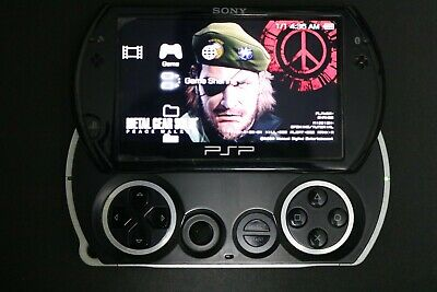Sony PSP Go 16GB Black Handheld System w/ Charger