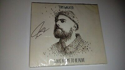Tom Walker - What A Time To Be Alive - Signed Digipack Album Sealed!