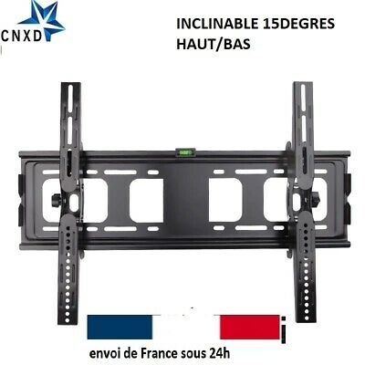 "Support TV mural orientable et inclinable 32"" - 55"" 40 42 46 50 52 55 60 140cm"