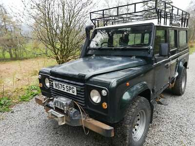 Land Rover 110 Defender County Station Wagon *no reserve*