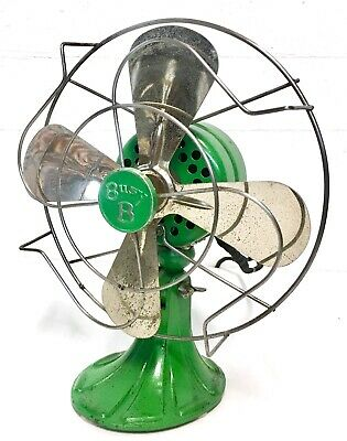 Kelmet Busy B 8-Inch Blade Single Speed Oscillating Fan 1920's