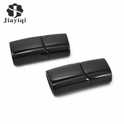 Glossy Magnetic Clasps Stainless Steel Magnet Buckle For DIY Leather Bracelet15