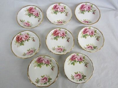 8 Royal Albert American Beauty Fruit Bowls or Nappys