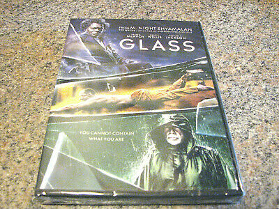 Glass (Dvd 2019) Brand New In Stock Includes 1St Class Shipping~Tracking #