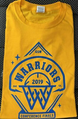 Golden State Warriors 2019 Western Conference Finals T-Shirt 5/14/19 Game #1
