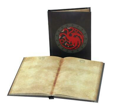 Trono Di Spade Quaderno Stemma Targaryen With Light Logo Drago Daenerys #1