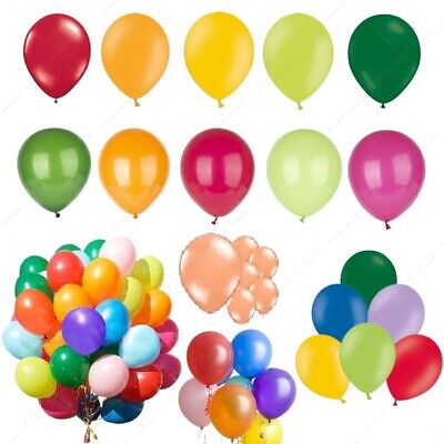 "15 X Latex 10"" PEARL Metallic BALLOONS BALLONS helium  BALOONS Birthday Wedding"