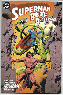 Superman Blood Of My Ancestor #1 2003 NM DC Comics Free Bag/Board