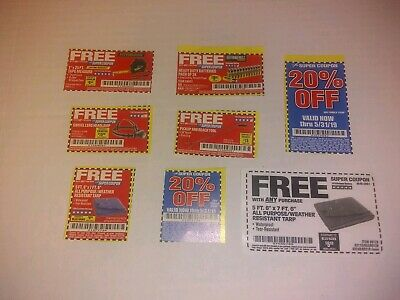 COUPON HARBOR FREIGHT  coupons 3x 20% off coupons Super Coupons + Bonus Coupons