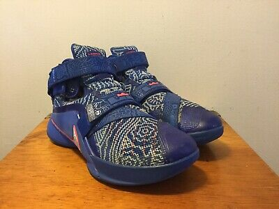 cheap for discount fb20e 1c187 MEN'S SIZE 8.5 Nike Zoom Lebron Soldier IX 9 Basketball Shoes 810803-418