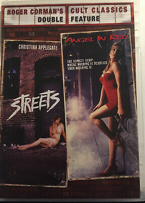 Streets/Angel In Red DVD - Roger Corman's Double Feature - Christina Applegate
