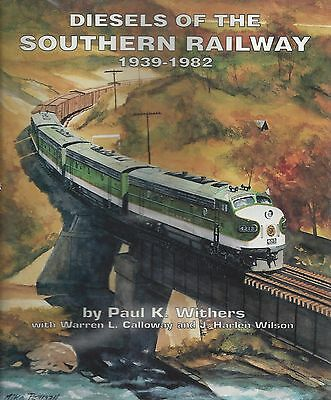 DIESELS of the SOUTHERN RAILWAY: 1939-1982 -- (Out of Print NEW BOOK)