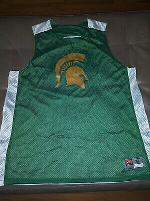 e33bcb4e098 Vintage 2009 XL Reversible Authentic Nike Michigan State Spartans Jersey  detroit