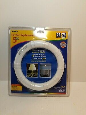 Circular Led Light Bulb T9 Circline Non Dimmable 22 Watt Equivalent Cool White