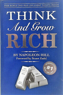 THINK AND GROW RICH by Napoleon Hill (2005) AS NEW - Intl.B/Seller - FREE POST