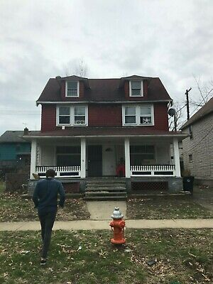 No Reserve Cleveland Ohio Investment Property Large House Real Estate 5 Bed