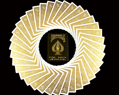 Bicycle MetalLuxe Gold Playing Cards Limited Edition - USPCC