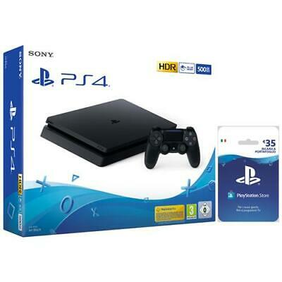 SONY Console Playstation 4 Slim 500GB + PSN Card 35 Euro