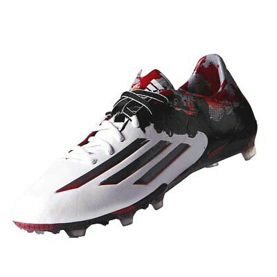 98156aeec1c ADIDAS MESSI 10.1 FG (White Black Red) Limited Edition!! Pibe De ...