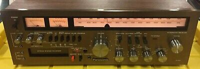 Vintage Panasonic RA6600 AM-FM Stereo Receiver With 8Track Recorder 🎛📻🎼🎸🎻🎹