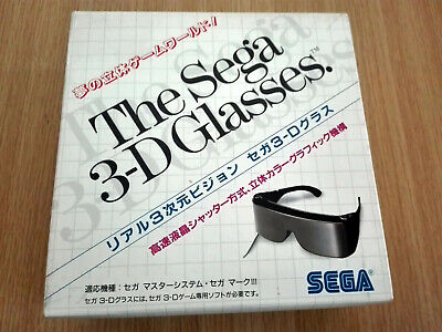 Sega 3D SYSTEM 3D Glasses for Mark III and Master System Boxed