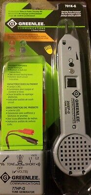 Greenlee Tone And Probe Tester Kit 701K-G