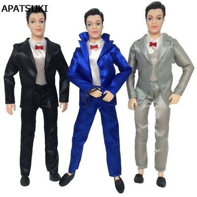 1set Handmade Doll Clothes For Ken Boy Doll Business Wedding Suit For Ken Doll