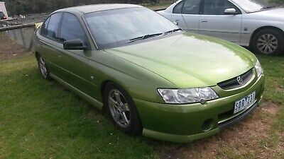 .99Vy Commodore Sedan V6 Auto Hot House Green