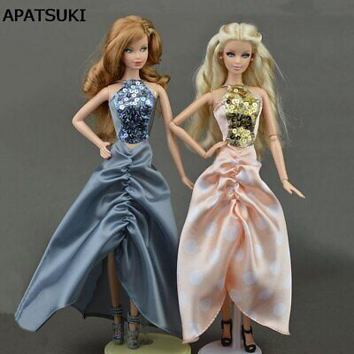 Fashion Doll Dress For 1/6 Doll Clothes Party Dresses Clothes For 11.5in Doll